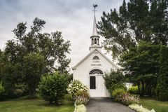 Sailors Chapel. Chapelle des Marins L`Islet Royalty Free Stock Photo