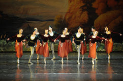 Sailors Dance-ballet Swan Lake Stock Image