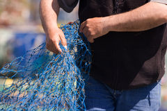 Sailors and fishing occupations Stock Photo