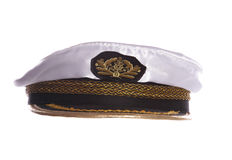 Sailors hat. Studio cut out Royalty Free Stock Photography