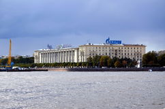 Sailors house in St. Petersburg Royalty Free Stock Photography