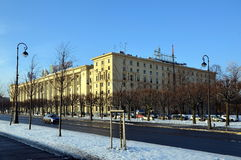 Sailors house in St. Petersburg Royalty Free Stock Photo