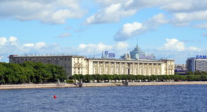 Sailors house in St Petersburg Stock Images