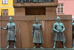 Sailors monument - Bergen Norway Stock Photography