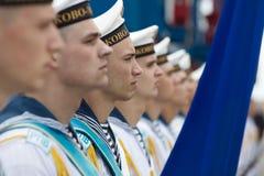 Free Sailors Of The Navy Of Ukraine Royalty Free Stock Photo - 121483805