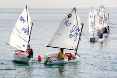 Sailors turn around Royalty Free Stock Image