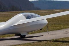 sailplane ανεμοπλάνο στο αεροδρόμιο της νότιας Γερμανίας Στοκ Εικόνες