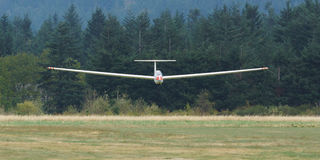 Sailplane Glider Gliding Royalty Free Stock Photography