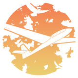 Sailplane icon Stock Photo