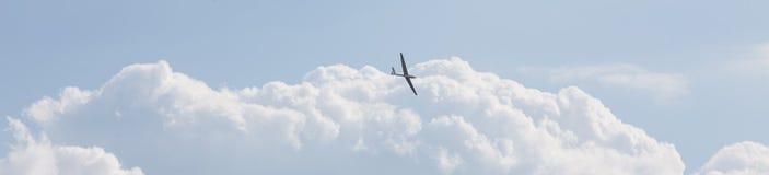 Sailplane latanie Fotografia Royalty Free