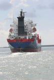 She Sails. Ship in route, Galveston, TX Stock Image