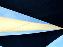 Sails. Shelter Sails at the local park Royalty Free Stock Images