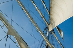 Sails away Royalty Free Stock Image