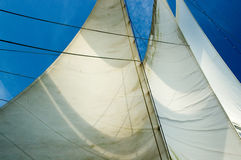 Sails away Royalty Free Stock Photos