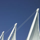 Sails and blue sky Stock Image