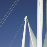 Sails and blue sky Stock Photo