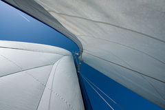 Sails and mast Stock Photography