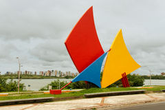 Sails Monument Sao Luis of Maranhao Stock Images