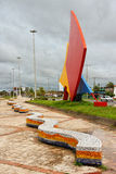 Sails Monument Sao Luis of Maranhao Stock Photos