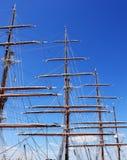Sails of old sailing ship Royalty Free Stock Image