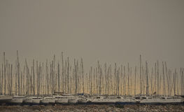 Without sails stock photography