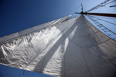 Sails in the sky Royalty Free Stock Image