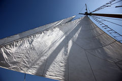 Sails in the sky Royalty Free Stock Images