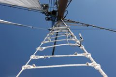 Sails in the  sky Royalty Free Stock Photo