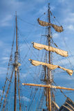 Sails of vessel Royalty Free Stock Image