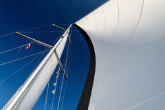 Sails in the wind Stock Photo