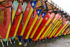 Sails for wind-surfing Royalty Free Stock Image