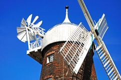 Sails on a windmill. Stock Photography