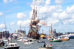 Sailship Götheborg от Швеции стоковые изображения