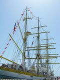 Sailship Mircea in port of Sochi. Stock Photography