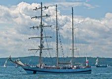 Sailship at sea Royalty Free Stock Photo