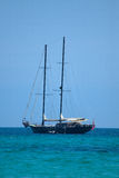 Sailship sur la mer Photos stock