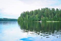 Saimaa lake, Finland Stock Photography