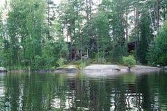 Saimaa lake, Finland Royalty Free Stock Images