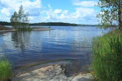 Saimaa lake in Finland Stock Images