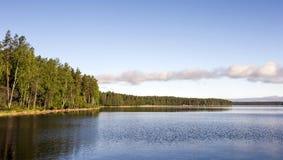 Saimaa See, Finnland Stockfotografie