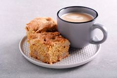 Sain aucun gros gâteau de blé entier Photographie stock libre de droits