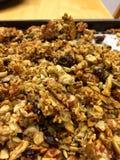 Sain gratuit de gluten de granola de Paleo Photos stock