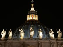 Saint Peters basilica Stock Photography