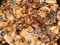 Saindoux à l'oignon Photos stock