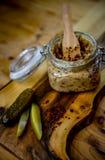 Saindoux délicieux et nutritif fait maison Image stock