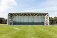 The Sainsbury Centre for Visual Arts. Is an art gallery and museum located on the campus of the University of East Anglia, Norwich, England royalty free stock photos