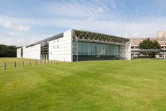 The Sainsbury Centre for Visual Arts. Is an art gallery and museum located on the campus of the University of East Anglia, Norwich, England stock photo