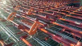Sainsbury-Laufkatze lizenzfreie stockfotos