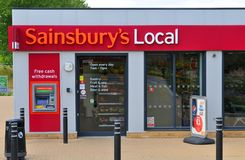 Sainsbury's Local Stock Images