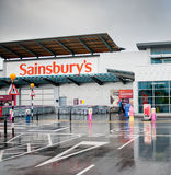 Sainsbury's Store in Manchester, UK Stock Images